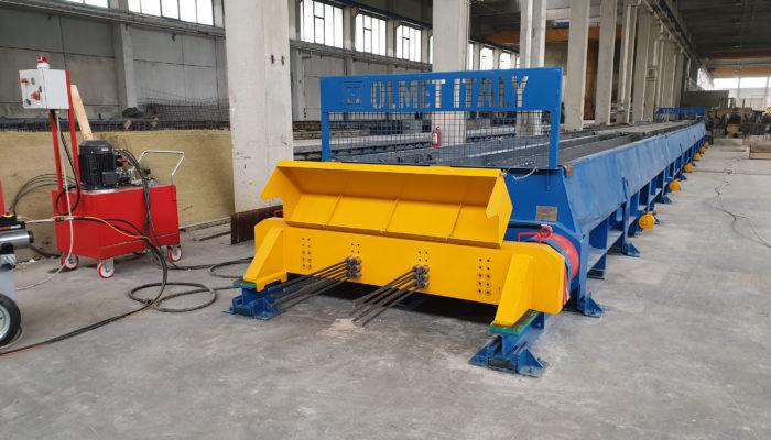 Nuovo impianto OLMET ITALY in Romania (2019)
