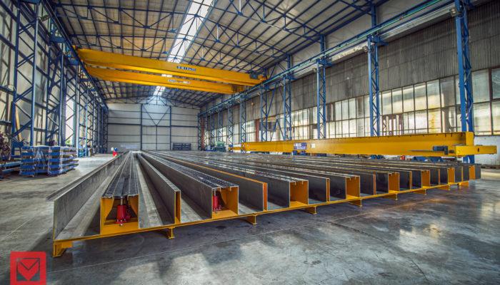 Batteria per la produzione di pali completa di benne – UA